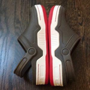 CROCS Shoes - Brown red new crocs size  J 3